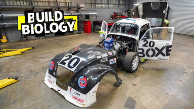 Porsche PDK Swapped, Compound TurboDiesel VW Beetle Pikes Peak Hillclimb Special