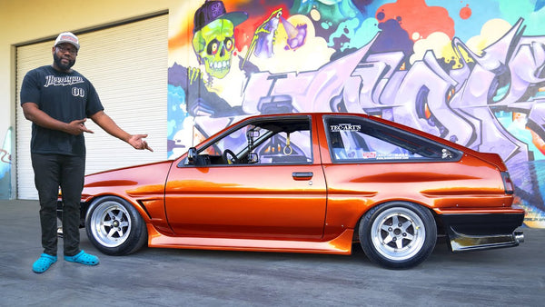 Hert's AE86 Corollavirus Update: Fresh Paint & New Coilover Install 621 Golden Ep.001
