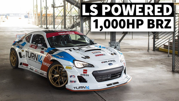 Dai Yoshihara's 1,600hp-Capable Competition BRZ Tests at Irwindale Speedway