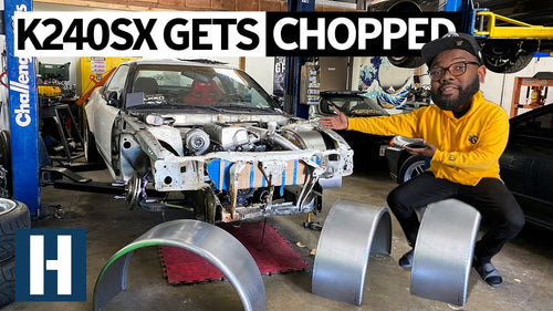 UnPros Garage: Honda K24 Powered 240SX Goes Under the Knife for a Cage + Tubbed Fenders