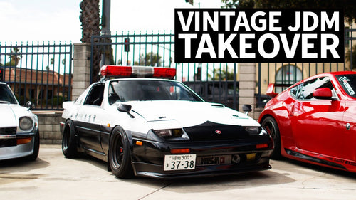 Vintage JDM Car Eye Candy: Skylines, 240zs and More for the Ultimate Photoshoot!