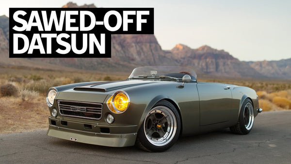 Chopped and Swapped Classic Datsun Roadster With the Cleanest N/A SR20 Ever!