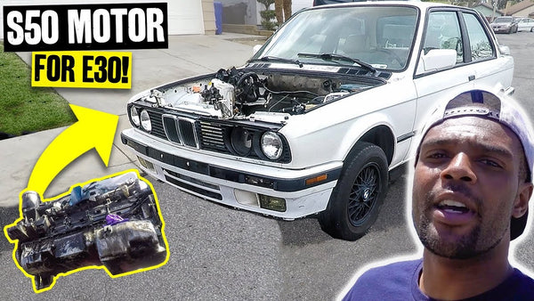 S50 From the Knuckle Busters M3 Gets a Teardown + Street Wrenching on Sean's E30