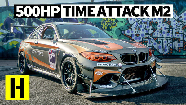 The Wildest BMW M2 Track Car Ever? 500hp Pikes Peak Spec