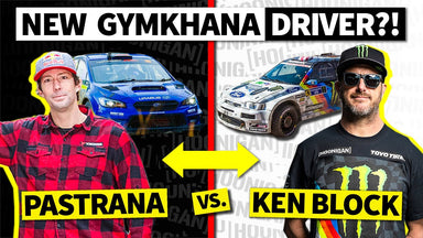 Travis Pastrana takes over Gymkhana from Ken Block... in a Subaru!?