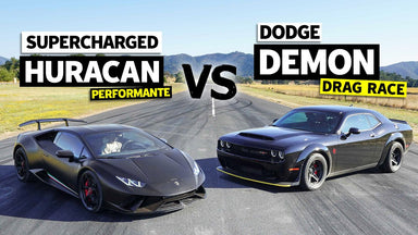 Supercharged Huracan vs Dodge Demon // This vs That