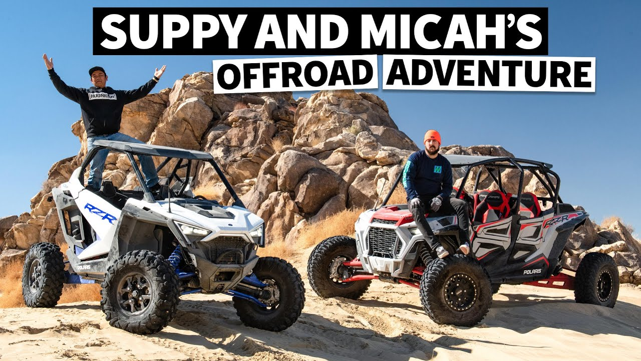 The New Polaris RZR Pro XP Rips! Can We Keep up With Pro Rock Crawlers in it?