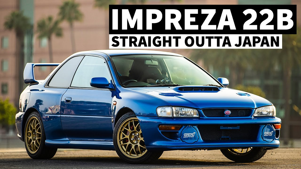 One of the Rarest Production Subarus in the World: Impreza 22b