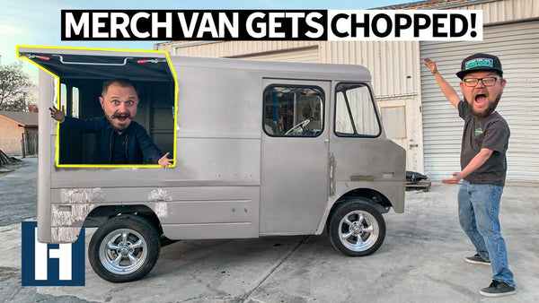 '69 Chevy P10 Merch Van Goes to Chop City: Cutting the Vending Window + Rust Removal