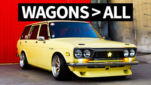 Crazy Clean SR20-Powered Datsun Engine Bay: Team Wild Cards 510 Wagon
