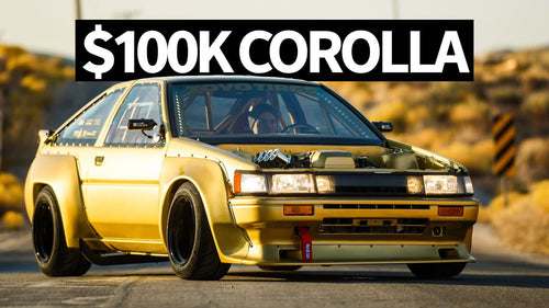$400 Abandoned AE86 Corolla to BEAMS Powered $100,000 SEMA Hero