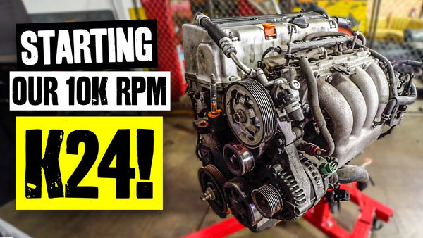 We're Building a 10,000 RPM K24… For YOU.
