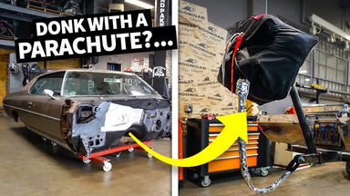 A Donk With a Parachute?? Our '71 Caprice Gets Brand New Suspension and Drag Prep