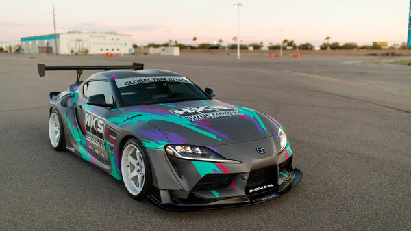 HKS USA's A90 Supra is an Ultra-Widebody Street Legal Concept Car