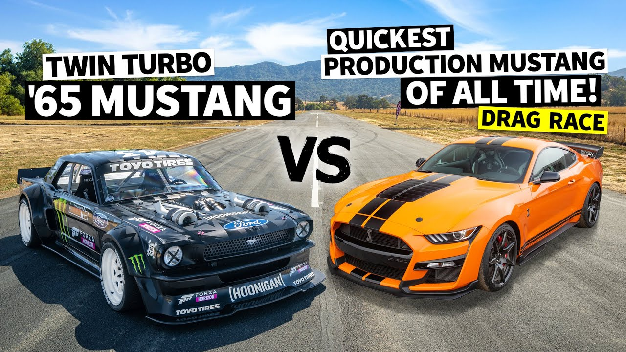 Fastest Production Mustang Ever: 760hp Ford GT500 Vs the 1,400hp Hoonicorn // Hoonicorn Vs the World