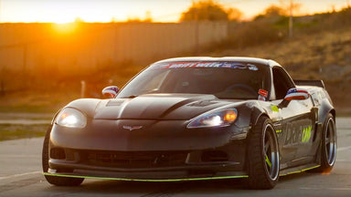 Is a Corvette the Perfect Reliable Drift Car?? Matt Field's C6 'Vette From Drift Week 2020