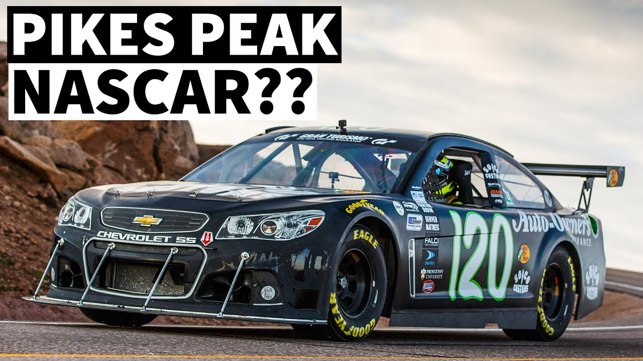 NASCAR + Turbo + Hand Controls = Rob Parsons' Pikes Peak Ready NASCAR (Spoiler: it's a HANDFUL)