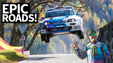 Antilag in the Alps: Epic Rally Views in the Switzerland in My Ford Escort Cossie V2