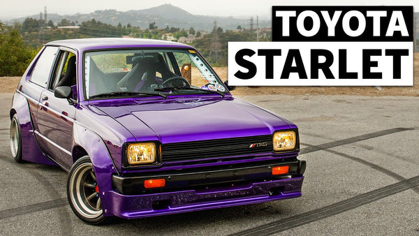 Restored Widebody Toyota Starlet (With TRD Race Motor!) is the Father/Son Project we Wish we Had