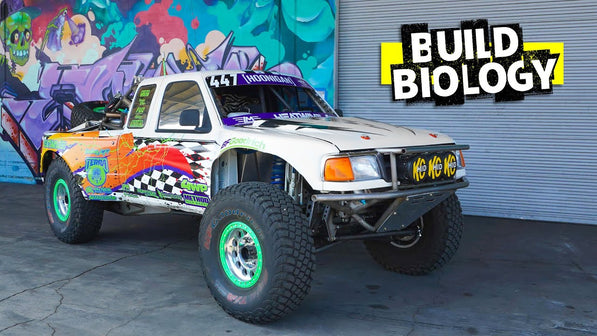 Reborn From Fire: Darren Parsons' LS7 Powered, 90s Livery'd Ford Ranger Race Truck