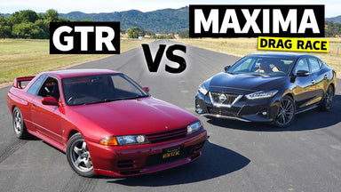 Is a New Maxima Faster Than an R32 GT-R?? // This vs. That