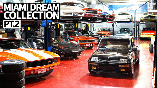 Most Eclectic Car Collection This Side of Jay Leno: Juan Carlos's Miami Car Collection Part 2