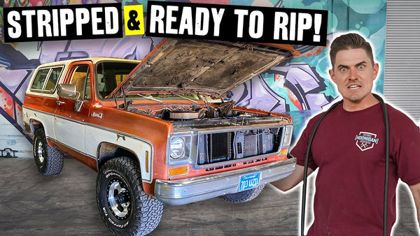 Zac's K5 Blazer is a Wiring Spaghetti Nightmare, Can it be Saved?? Also, It Gets Fresh Steelies
