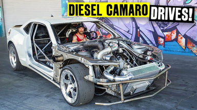 The 1000hp Duramax-Swapped Camaro is BACK. And it Drives!!
