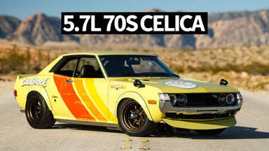 70s Racing Inspired V8 Swapped Toyota Celica - AKA Tokyo Trans Am
