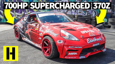 360s in the Yard?? 700hp Supercharged Nissan 370z Goes Berserk