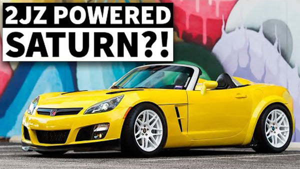 Best Street Saturn Ever? 2JZ Swapped Sky Roadster Makes All the Right Noises