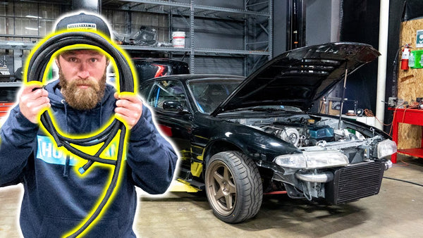 Fuel Lines for an E85-Hungry 2JZ: Dan's 240sx Gets a Flex Fuel Setup