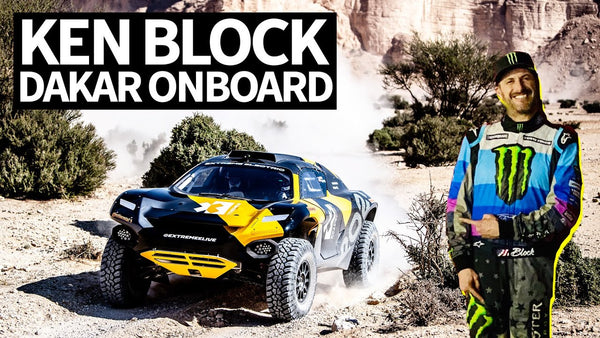 Ken Block FIRST to Race Extreme E Racecar at the Dakar Rally - RAW GoPro Onboard Footage!