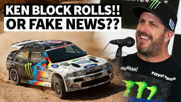 Ken Block at WRC Mexico: Roll *or* Mechanical Failure?? Find Out!