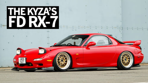 Render Artist's Real Life Dream Driver: '92 Mazda RX7 FD by Khyzyl Saleem