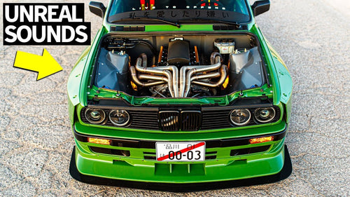 Wildest BMW E30 Ever? Insane Sounding Render-to-Reality, V8 Swapped E30 BMW