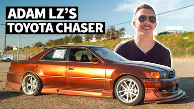 Adam LZ's JZX100 Toyota Chaser is the Perfect Luxury Road Tripper for Drift Week 2020
