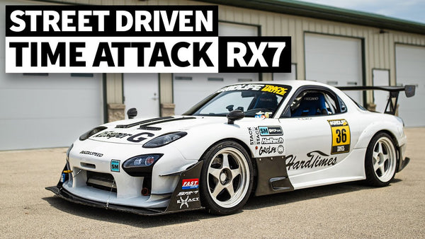 This Time Attack Spec Mazda FD RX-7 is All Business, Yet Street Legal