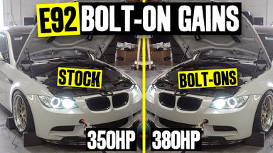 Dyno Time, Before and After. Simple Bolt-ons = Unlocking +30hp on Vin's E92 BMW M3!