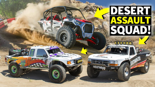Short Course Showdown: Jumping Our Polaris RZR vs. Desert Trophy Trucks