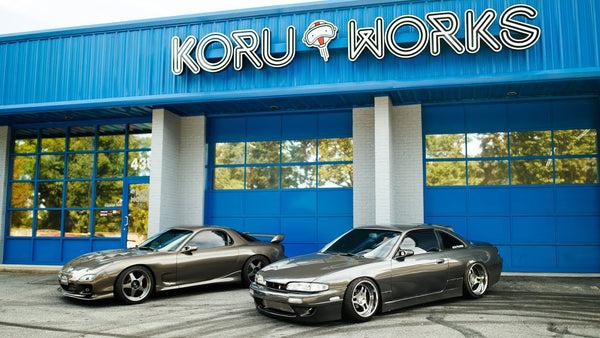 JDM Parts Wonderland: Touring the Koru Works Race Shop and Warehouse!