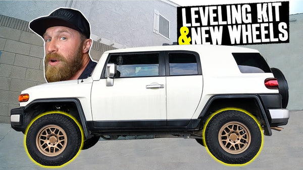 Danger Dan's Daily Driver Toyota FJ Cruiser Get Lifted in the Narrowest Garage