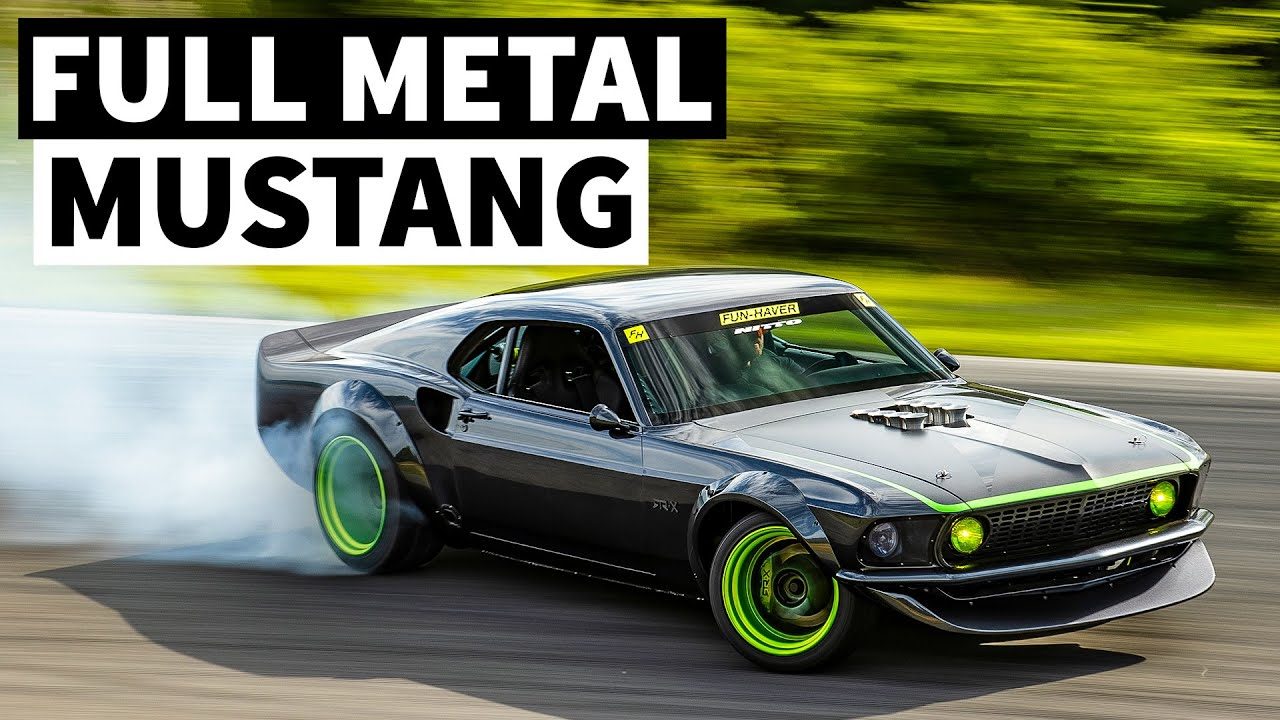 Vaughn Gittin Jr's All-Metal '69 Ford Mustang RTR-X is an Insane Build You May Have Never Heard of