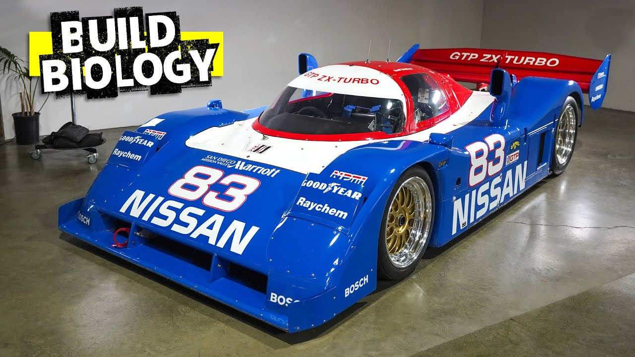 10,000lbs of Downforce at 200mph: Nissan's Wild 950hp IMSA GTP Cars