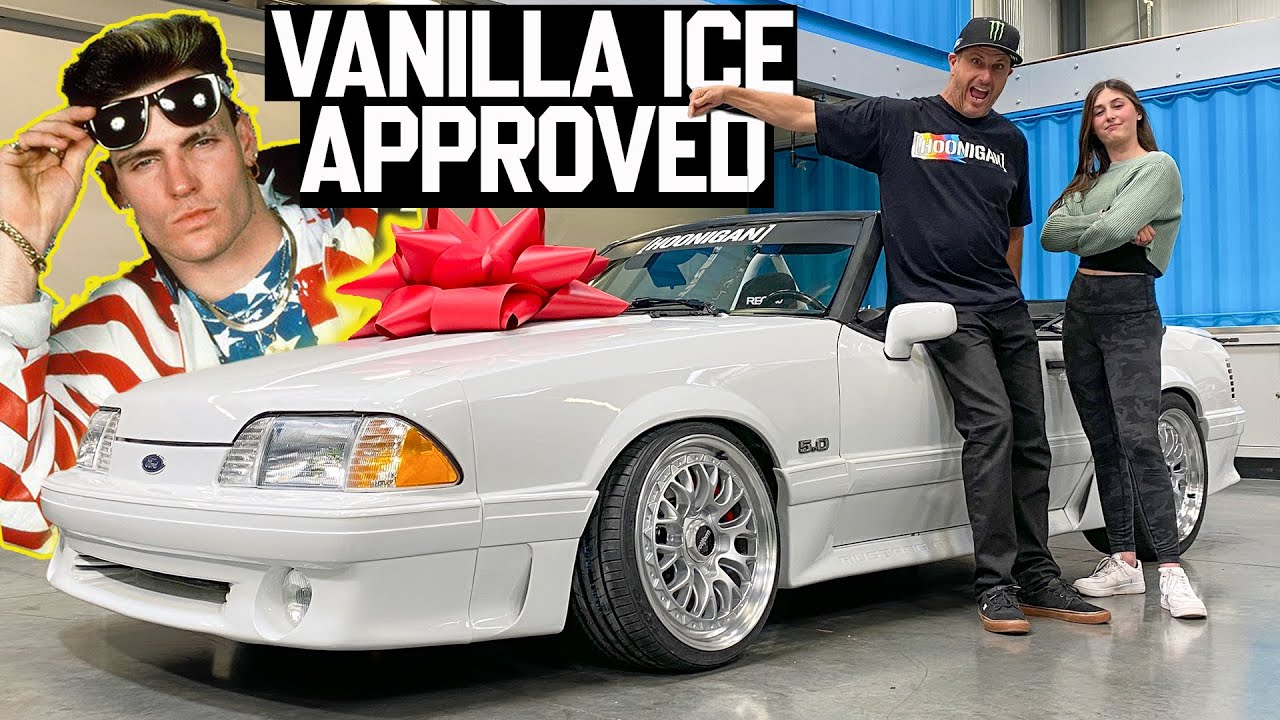 Ken Block Builds Vanilla Ice Inspired Fox Body 5.0 for Daughter's 14th Birthday