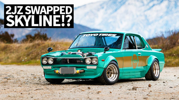 Anti-Purist Perfection: Toyota 2JZ Swapped '72 Hakosuka Skyline