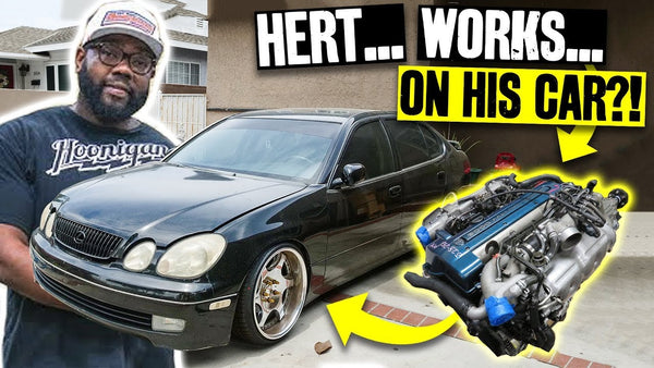 Hert's GS300 Becomes a Supra? 2JZ-GE to Aristo 2JZ-GTE!