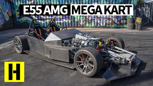 Mercedes E55 AMG Track Kart!? 700hp Twin Turbo Home-Built Race Machine