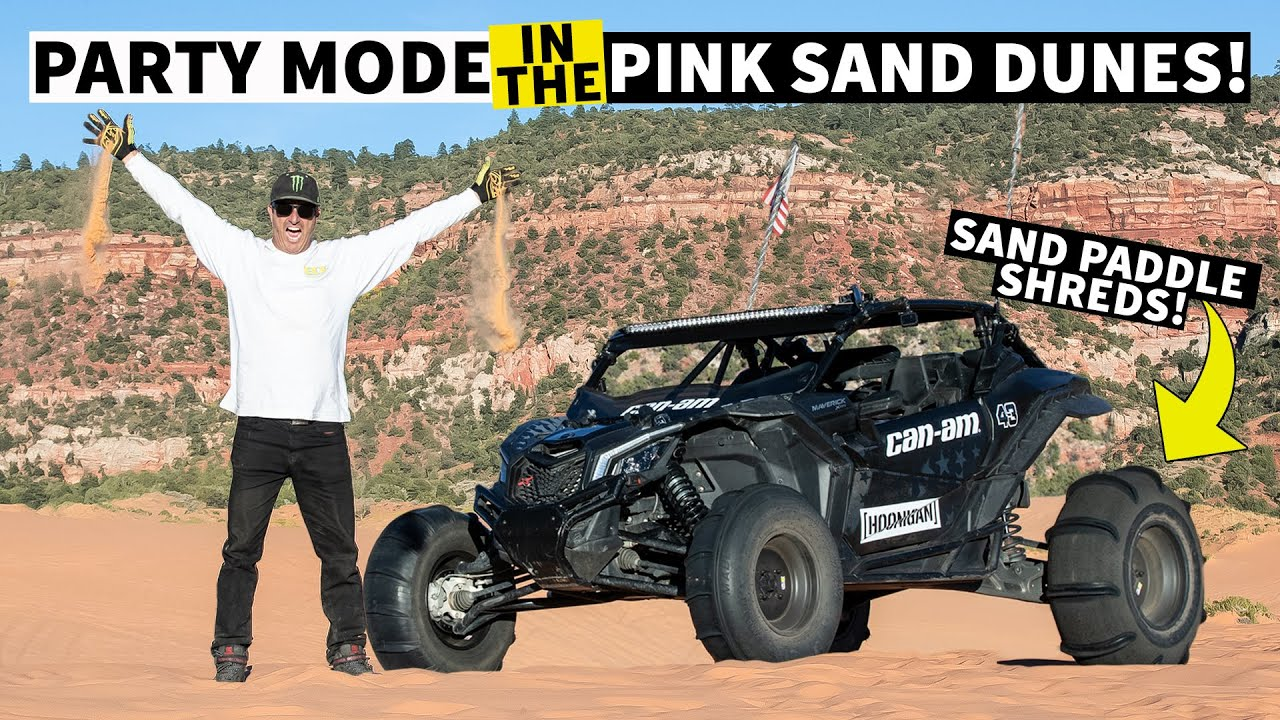 The Best Dunes in Utah!!! Ken Block's Guide to Awesome Can-Am Riding Spots: Coral Pink Sand Dunes
