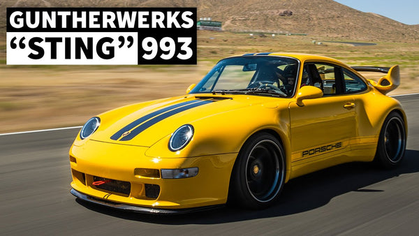 "Porsche 911 Racecar With License Plates: The Guntherwerks ""Sting"" 993 Street/Track Car Special"